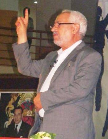استقبال حماسي للشيخ راشد الغنوشي بالملتقى