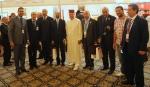 مع بعض أفراد الوفد المغربي وسعادة السفير