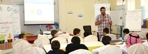 دورة التحرير الصحفي ضمن فعاليــات النادي الصيفي للمركز الثقافي للطفولة قطر